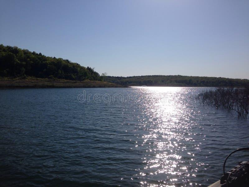 Nel lago immagini stock