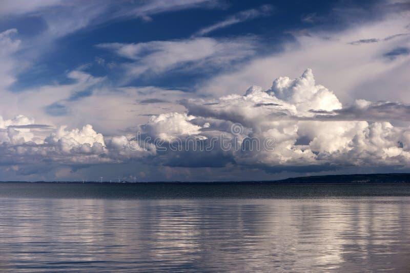 Nel lago Vättern fotografie stock libere da diritti