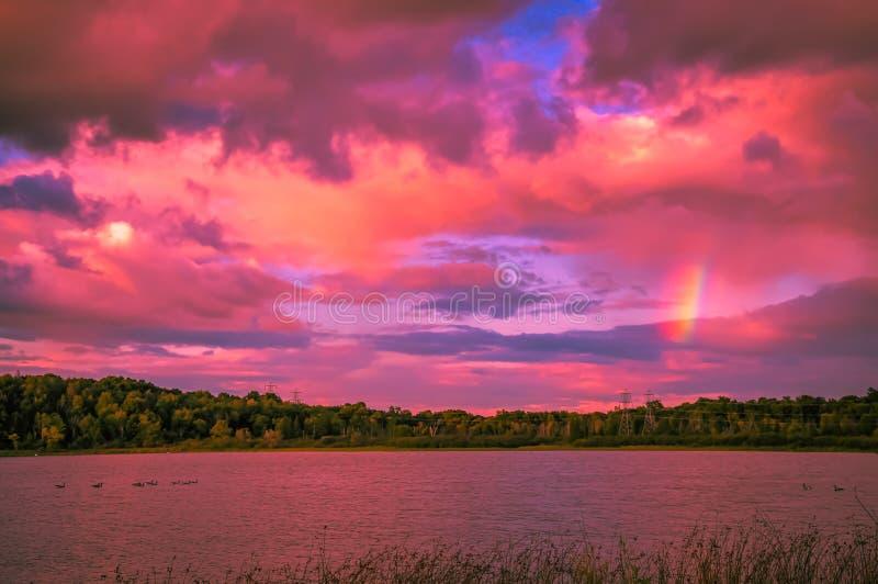 Nel Michigan fotografie stock libere da diritti