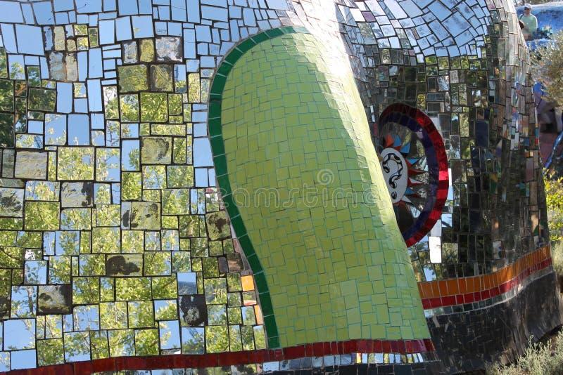 Nel paese di capalbio colorati Vetri в toscana стоковое фото rf