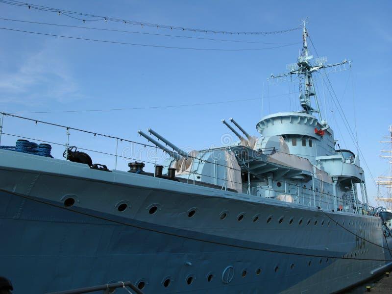 Nel porto militare fotografia stock libera da diritti