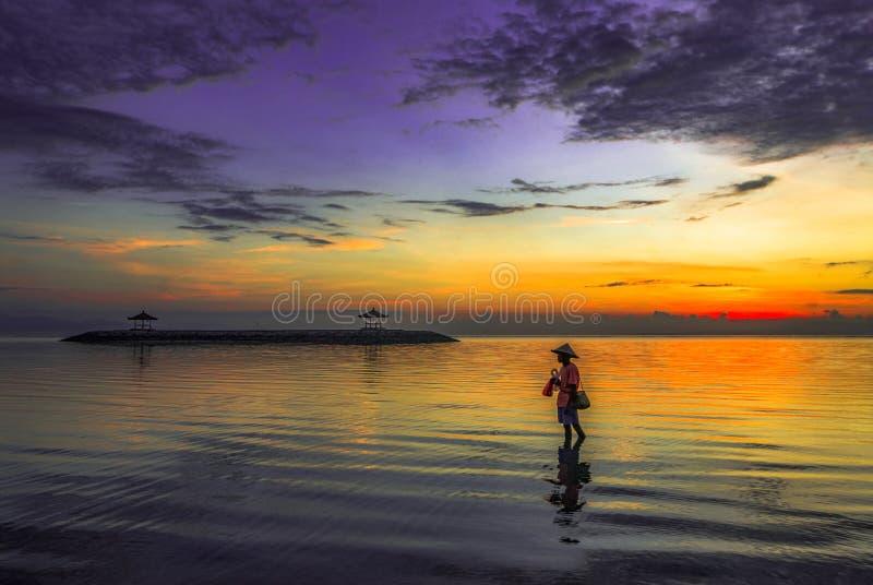 Nelayan Pantai Karang photos stock
