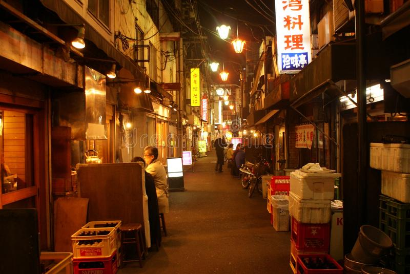 Nell'ambito della guardia di Nishiogikubo fotografie stock