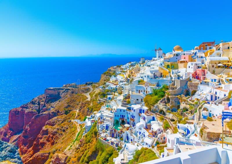 nell 39 isola di santorini in grecia immagine stock