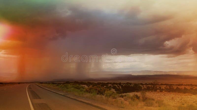 Nella tempesta fotografie stock libere da diritti