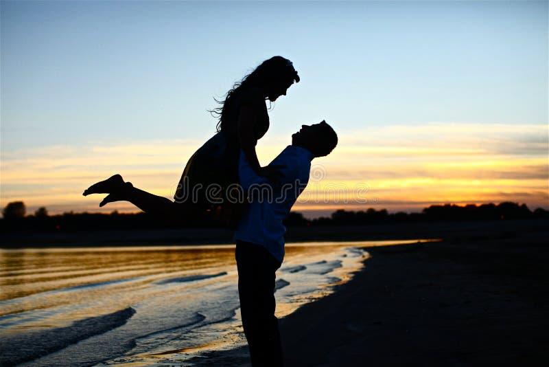 Nelle coppie di amore immagini stock libere da diritti