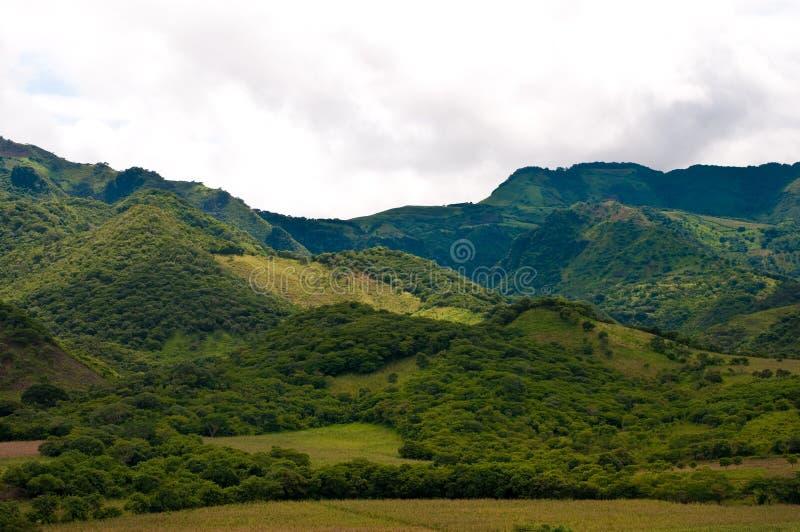Nelle montagne della Nicaragua fotografia stock
