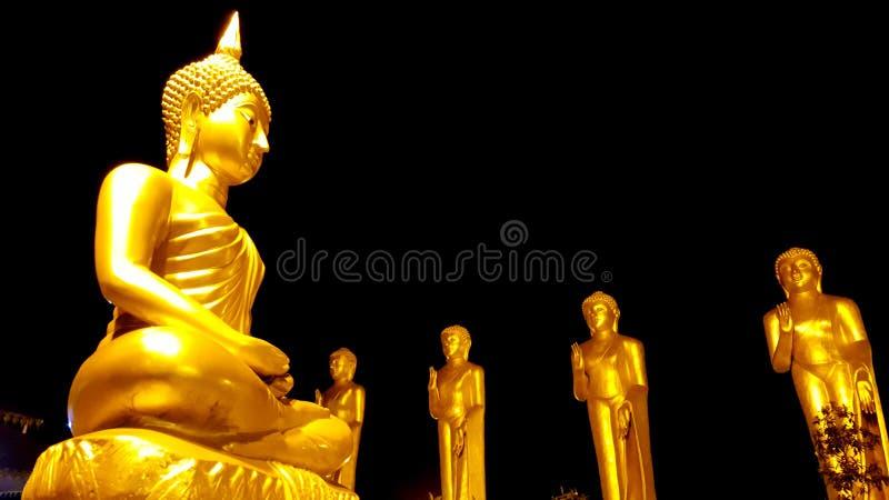 Nelligala国际佛教中心 免版税库存照片