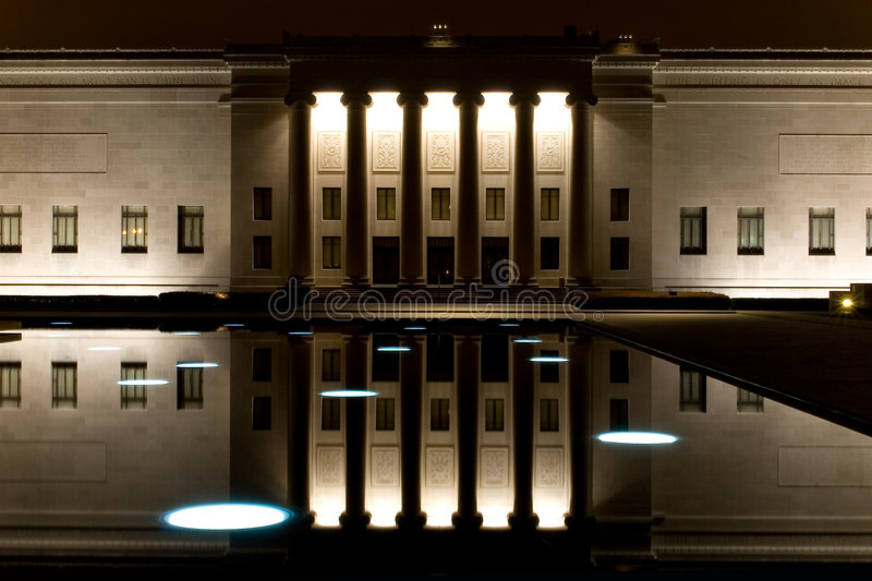 Download Nelson Atkins Art Gallery stock photo. Image of architecture - 8065182
