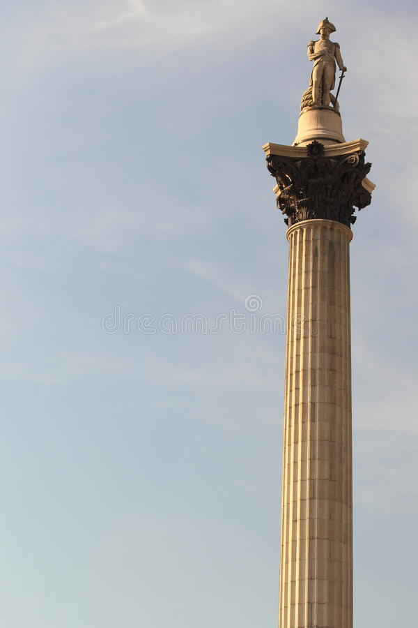 Download Nelson Column in London stock image. Image of column - 36955823