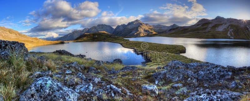 Nelson Lakes, Neuseeland lizenzfreie stockbilder