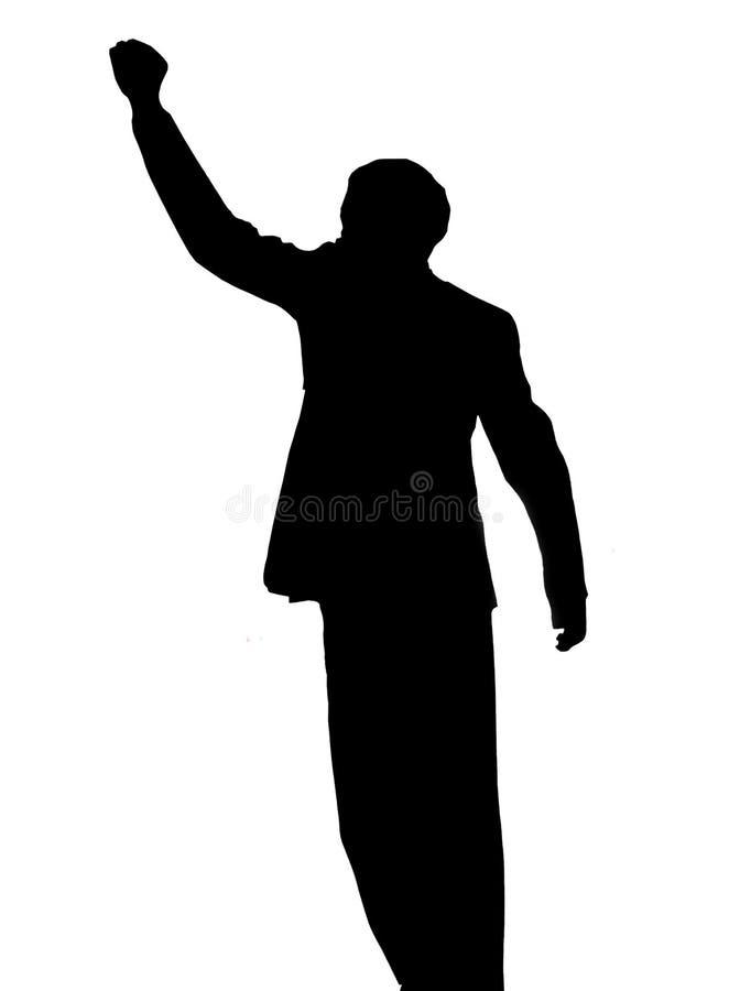 Nelson Mandela. photographie stock