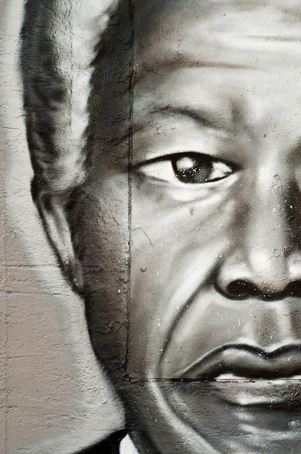 Nelson Mandela stockfoto