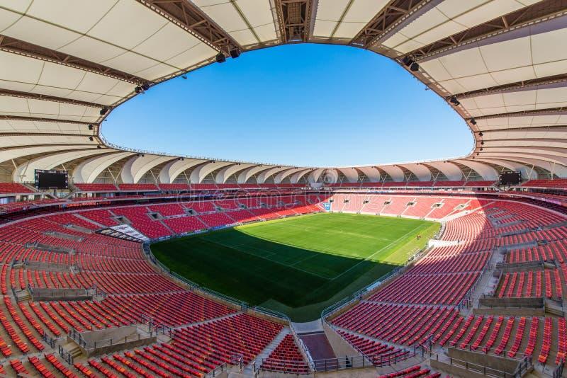 Nelson Mandela Bay Stadium South Afrique photos libres de droits