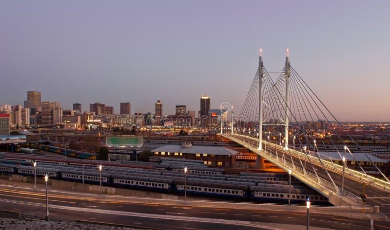 Nelson Mandela Bridge Royalty Free Stock Image