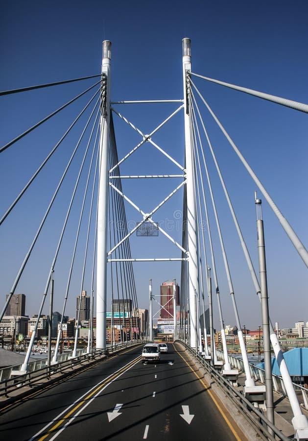 Nelson Mandela Bridge royalty free stock photography