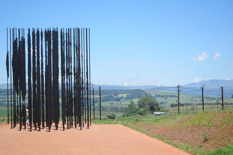 Nelson Mandela Capture Site royaltyfria bilder
