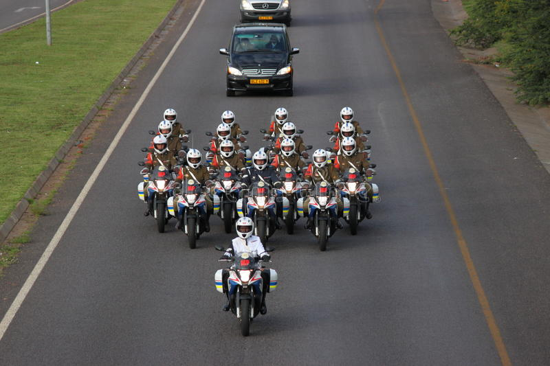 Download Nelson Mandela Cortege editorial image. Image of icon - 35984965