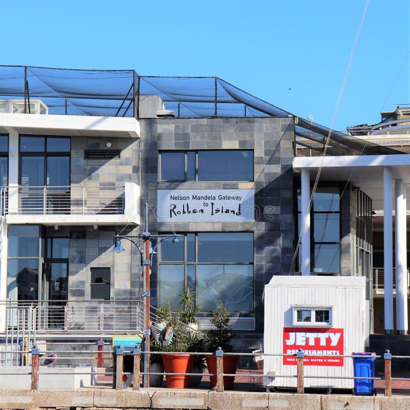 Nelson Mandela Gateway to Robben Island zdjęcia stock