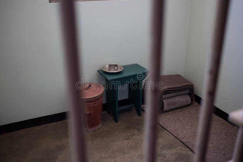 Nelson Mandela Prison Cell images stock