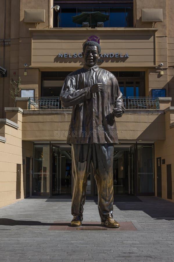 Nelson Mandela Square fotografía de archivo