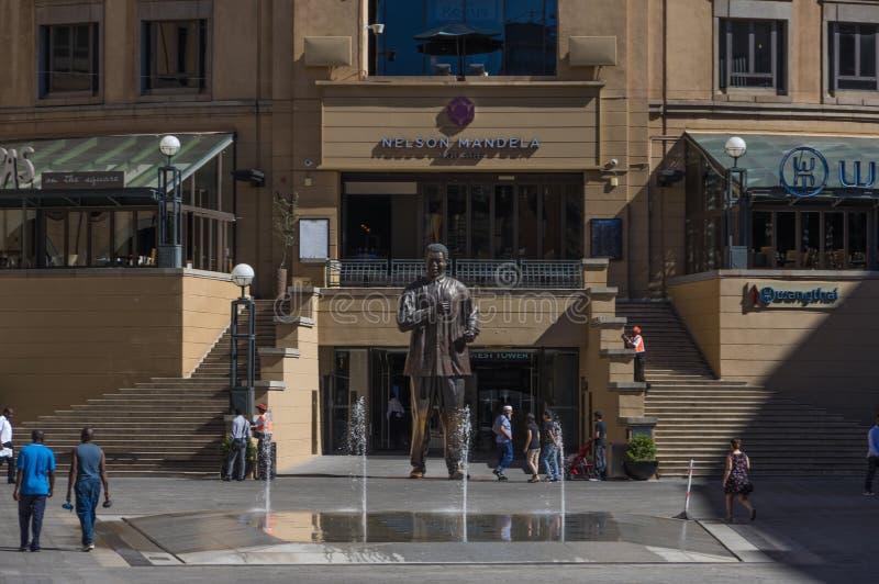 Nelson Mandela Square images stock