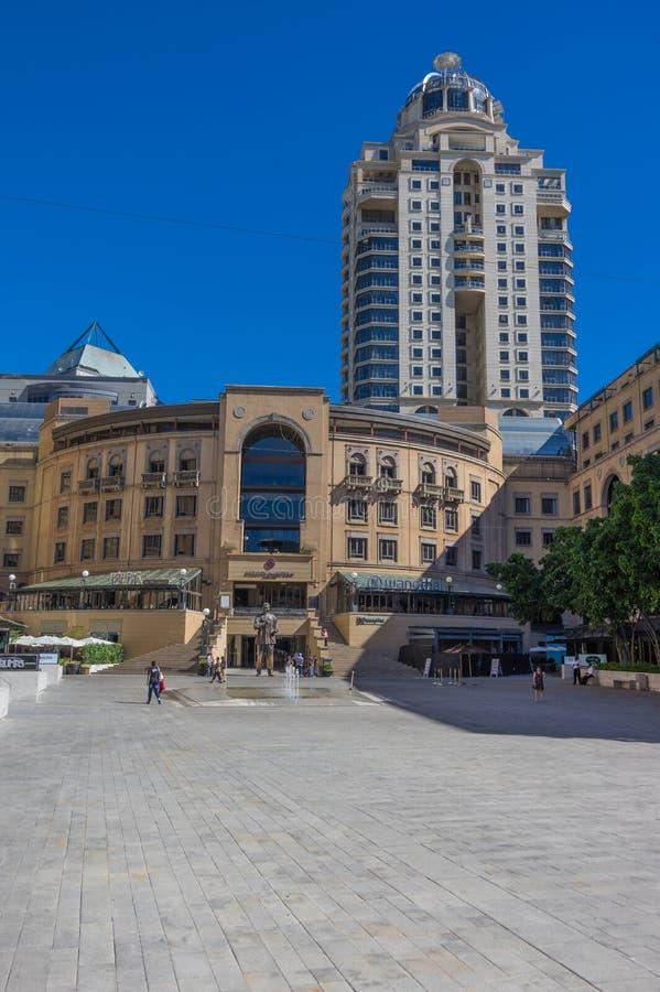 Nelson Mandela Square image libre de droits