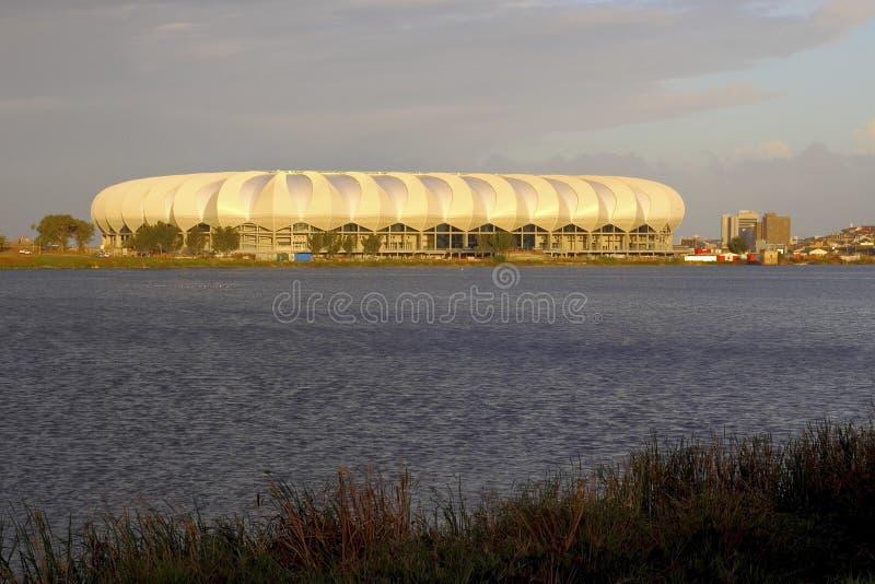 Nelson mandela stadium royalty free stock photography