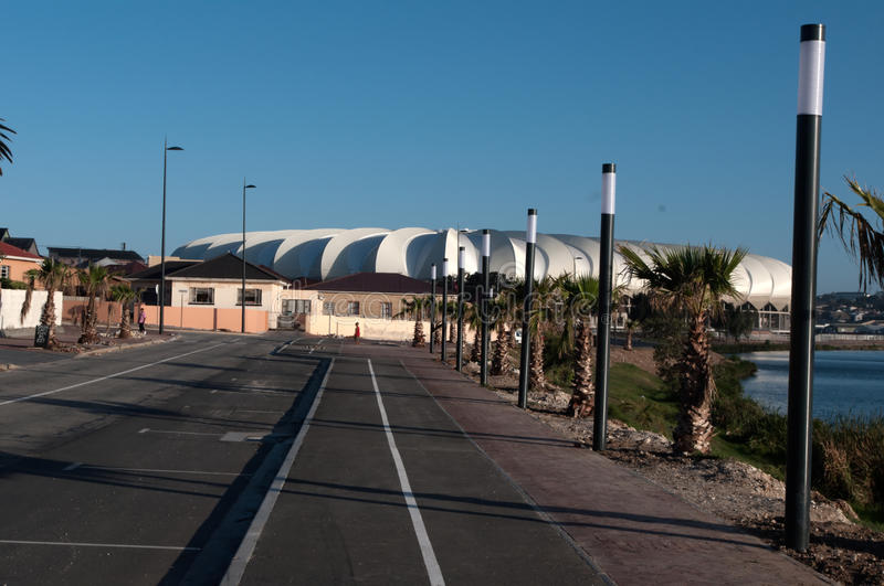 Nelson Mandela Stadium , Porth Elizabeth Editorial Photography
