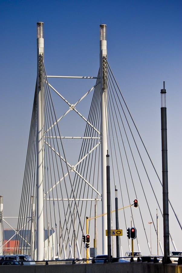Nelson- Mandelabrücke - Aufhebung-Brücke lizenzfreie stockfotos