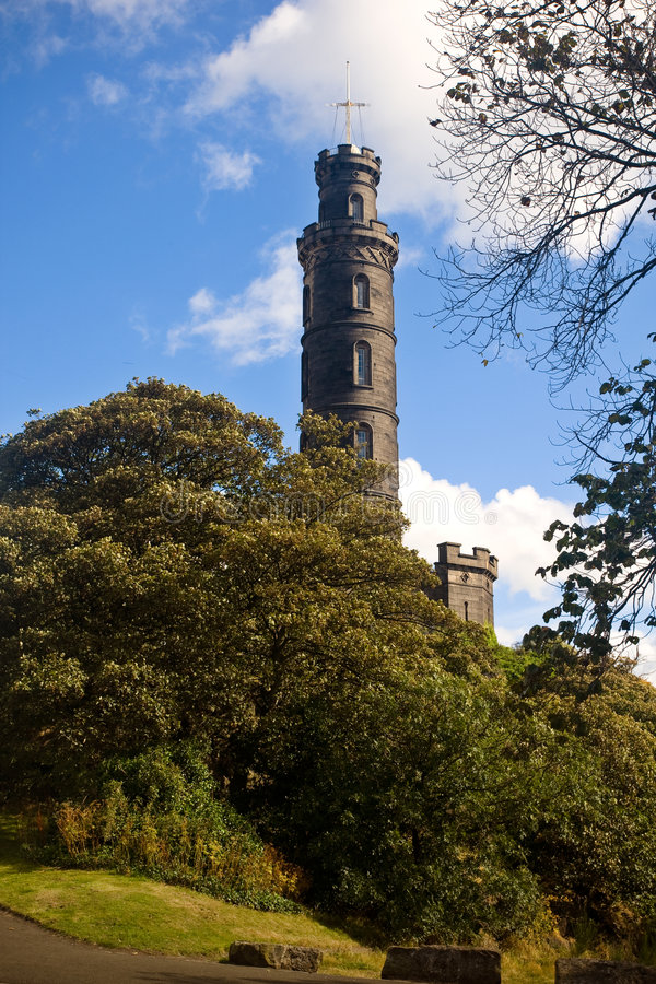 Download Nelson Monument stock image. Image of ancient, long, rock - 3305361