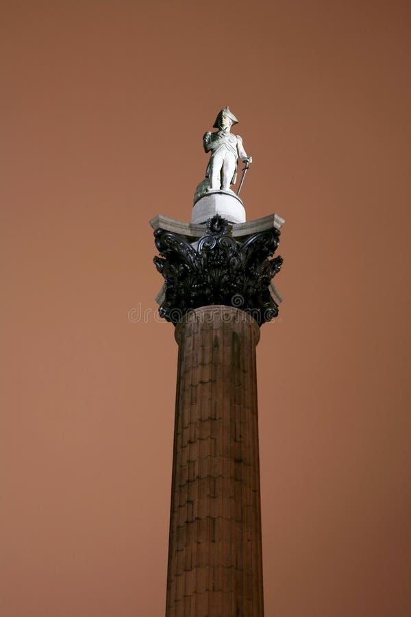 Download Nelson's Column In Trafalgar Square Stock Image - Image: 20035589