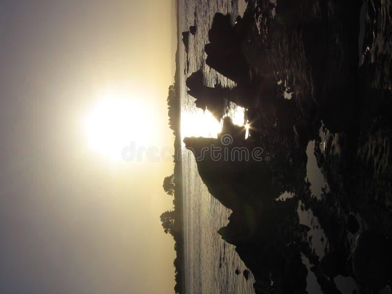 nelson s solnedgång royaltyfri fotografi