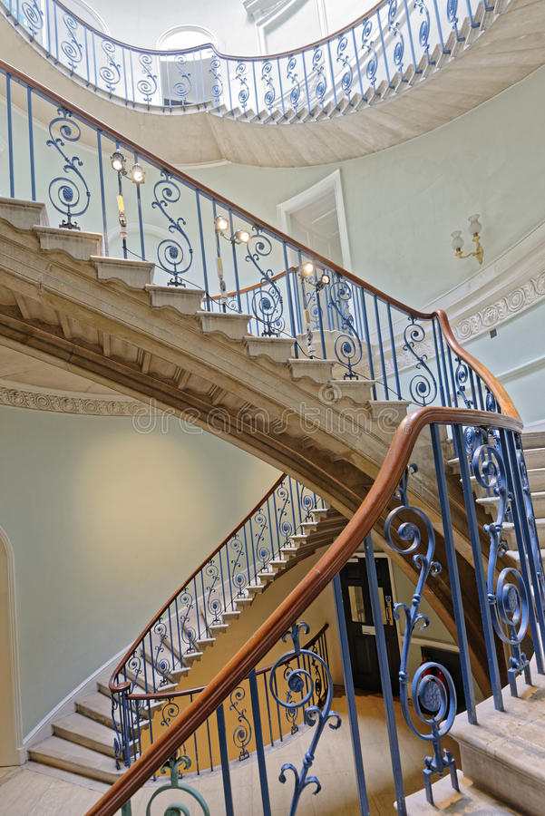 The nelson stair stock image
