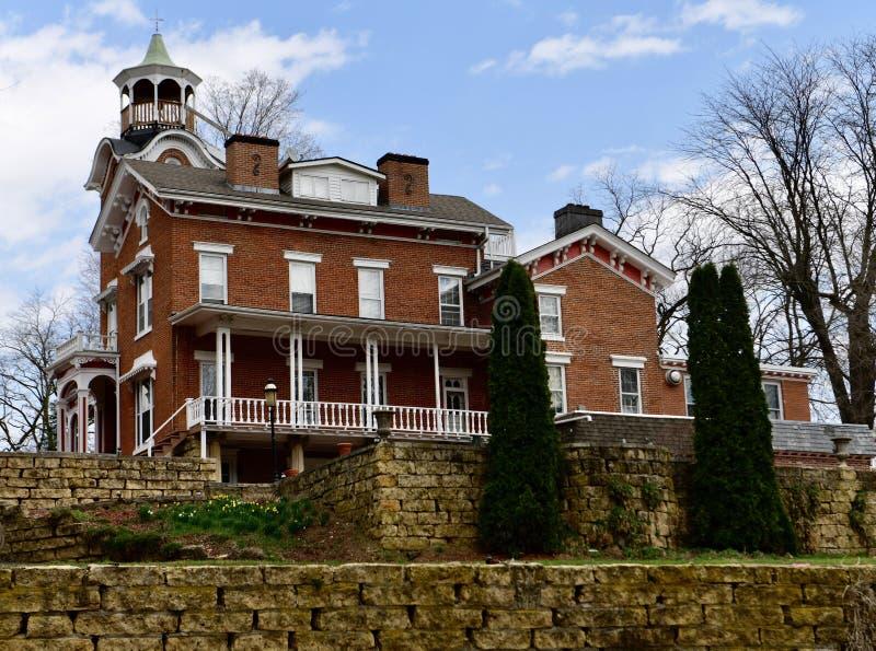 Nelson Stillman House imagem de stock royalty free
