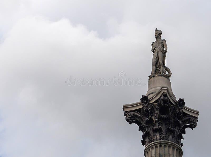 Nelsons Column arkivbild