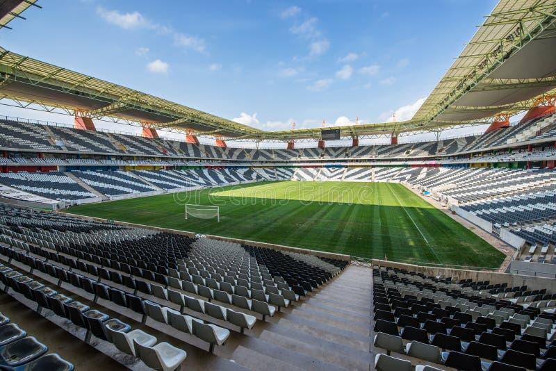Nelspruit-Mbombela Stadium Südafrika stockbilder