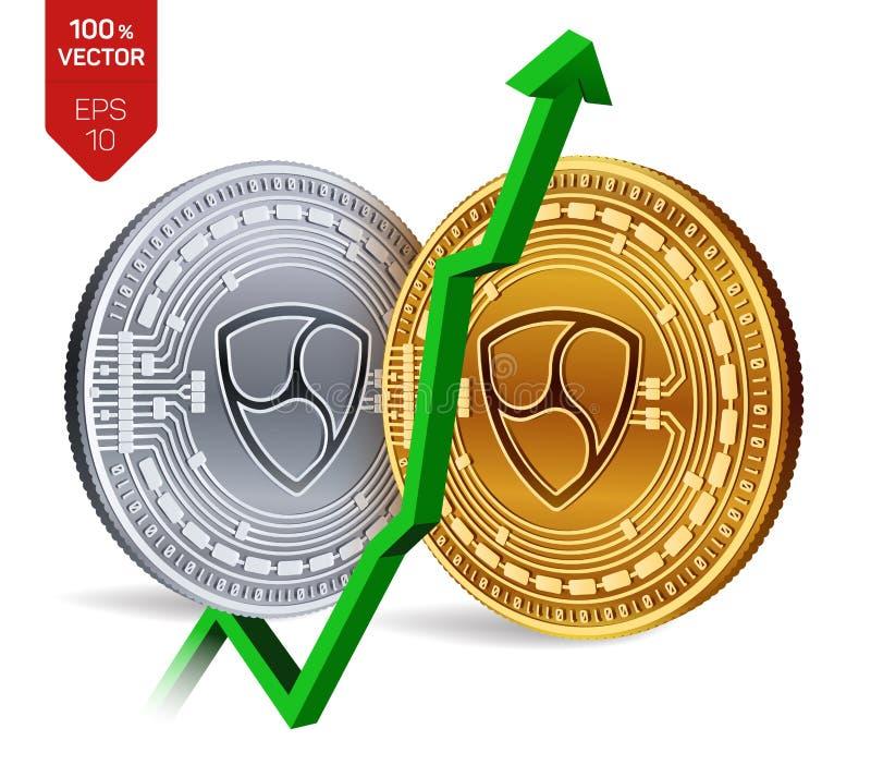 Nem Growth Green Arrow Up Nem Index Rating Go Up On Exchange