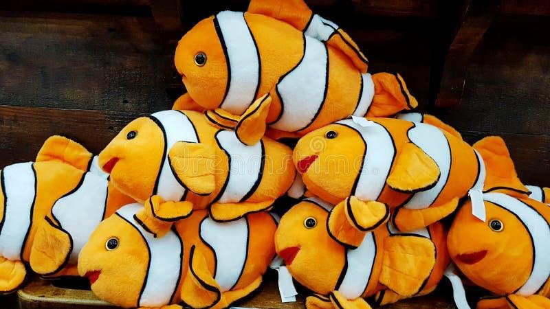 Nemo长毛绒玩具 库存图片