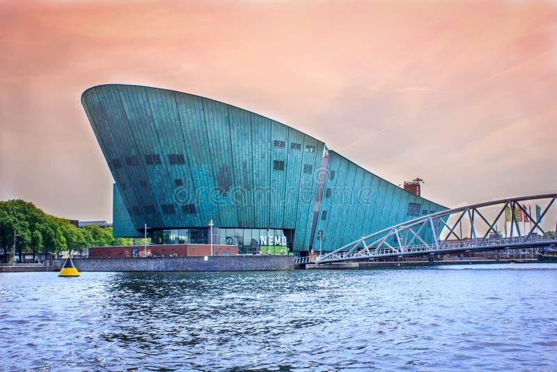 Nemo Amsterdam imágenes de archivo libres de regalías
