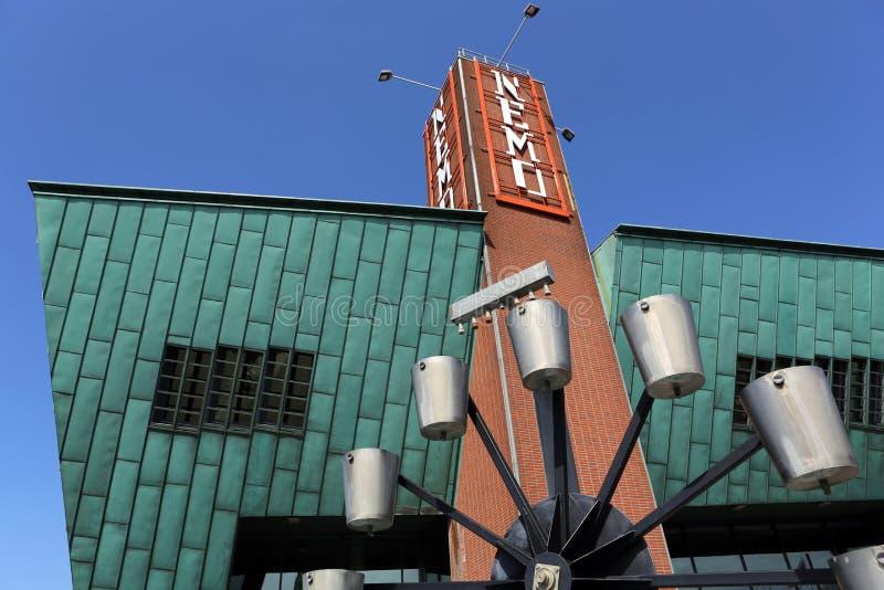 NEMO Science Center. Amsterdam royalty-vrije stock afbeelding