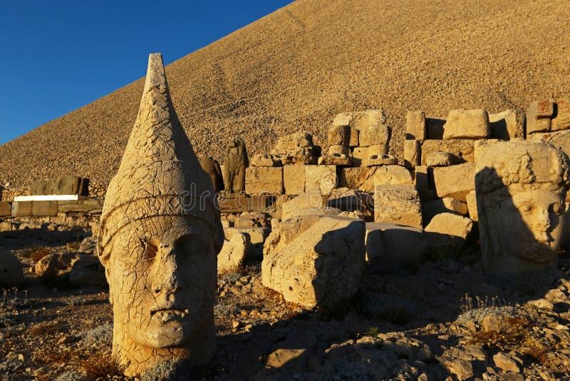 Nemrut antic city. In eastern turkey royalty free stock photos
