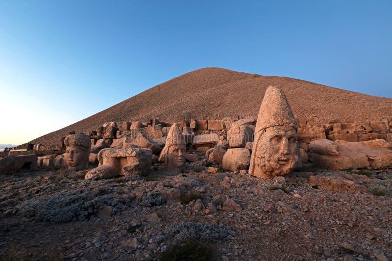 Nemrut antic city. In eastern turkey royalty free stock photography