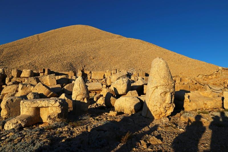 Nemrut antic city. In eastern turkey stock image