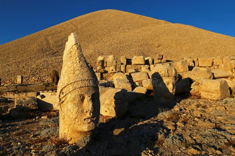 Nemrut antic city. In eastern turkey stock photo