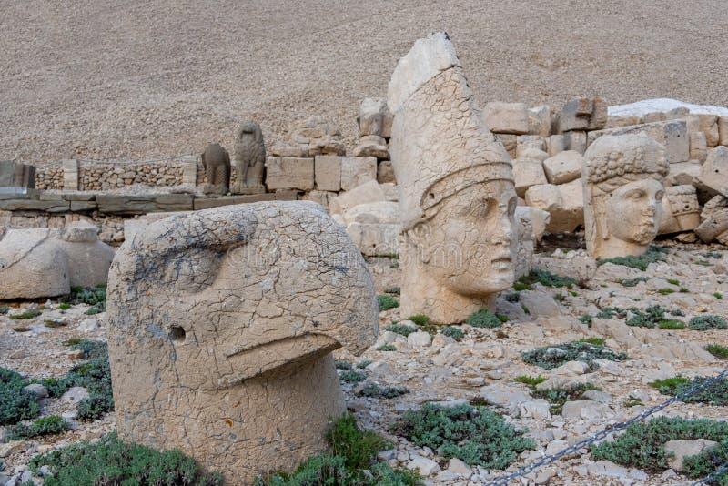 Nemrut Dagi, l'Anatolia, il dio Apollo immagini stock libere da diritti