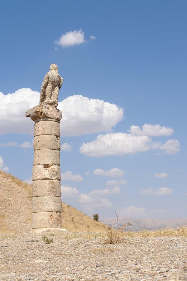 Nemrut - la Turchia - teste delle statue sul supporto Nemrut immagini stock