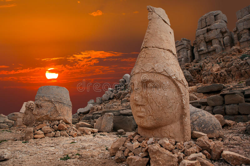 Nemrut Mountain stock photos