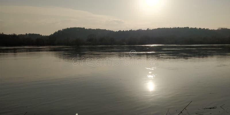 Nemunas river stock images