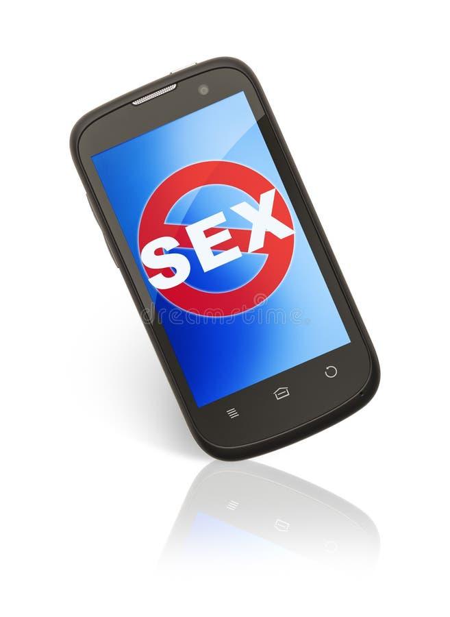 Nenhum Sexting fotos de stock